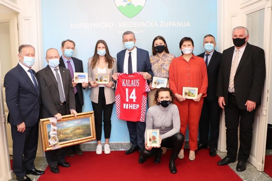 Prijem za dobitnika nagrade za životno djelo Ivana Pala i članice hrvatske ženske rukometne reprezentacije