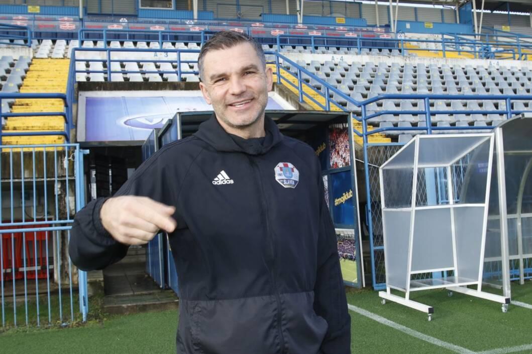 Trener Slavena Belupa Tomislav Stipić // Foto: NK Slaven Belupo / Podravski list