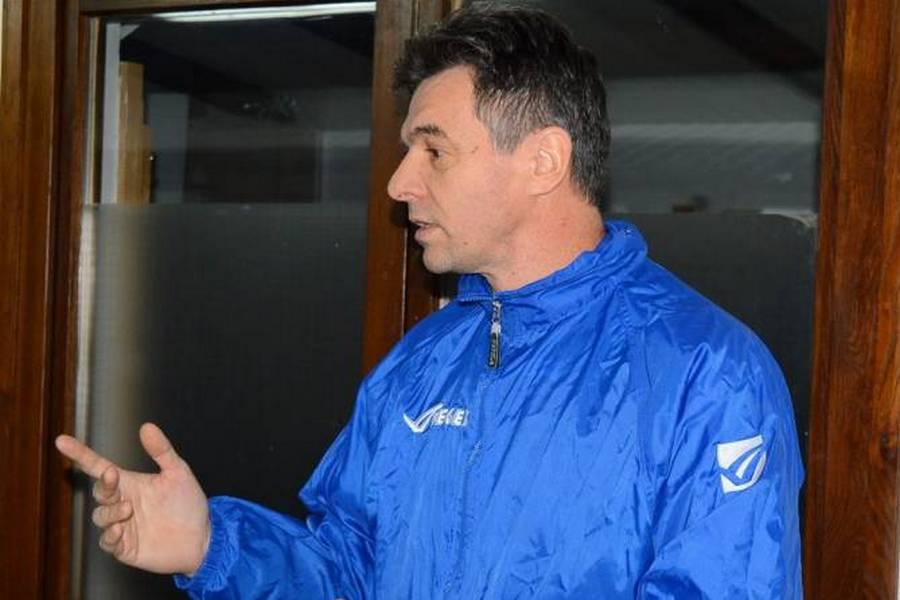 Trener Velimir Špikić