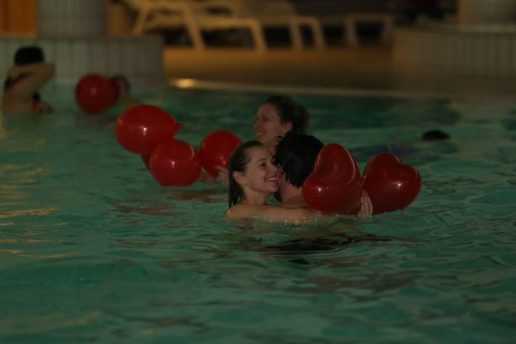 Valentinovo na bazenima Cerine