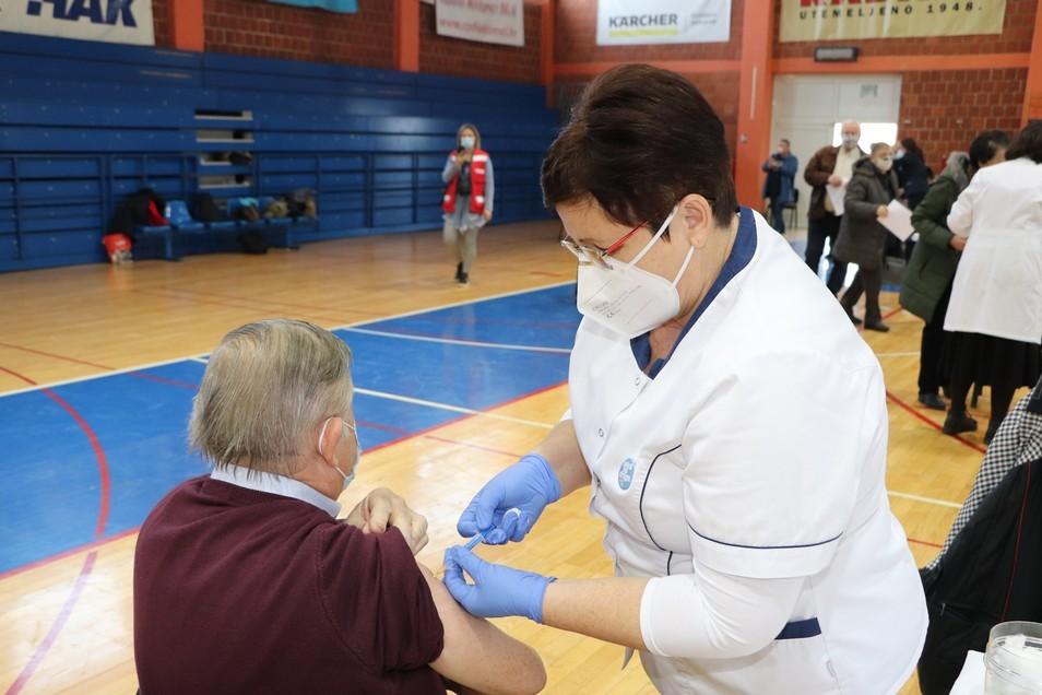 Cijepljenje protiv koronavirusa u Križevcima
