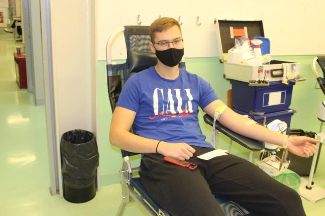 Dobrovoljno darivanje krvi u koprivničkoj gimnaziji