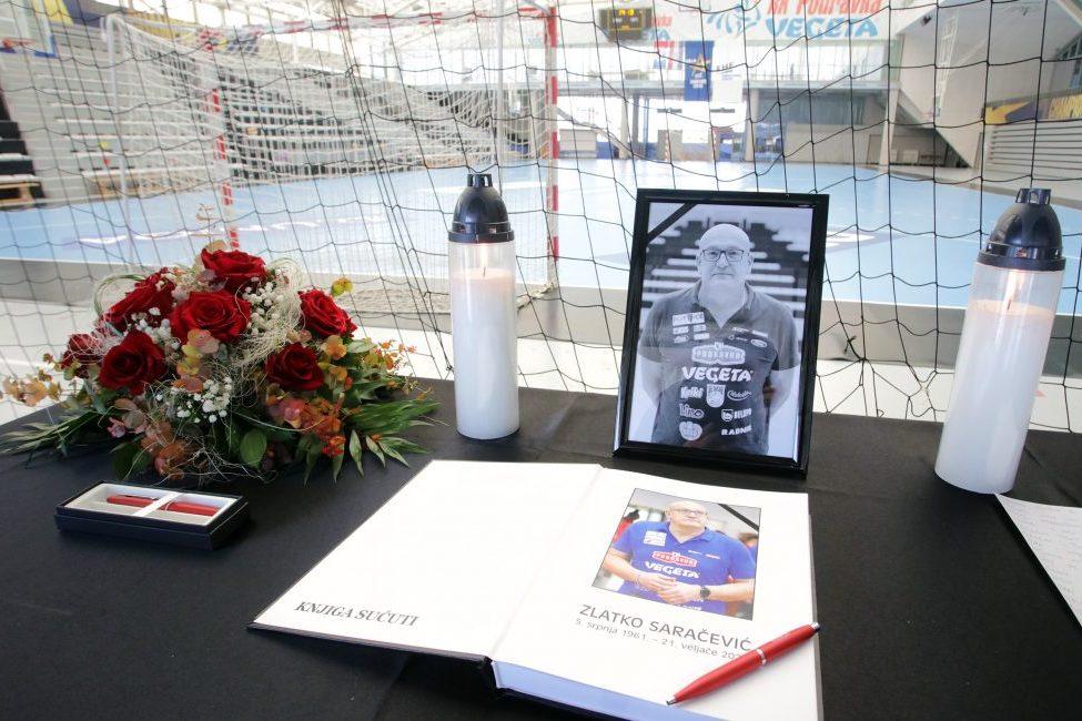 Knjiga žalosti za Zlatka Saračevića