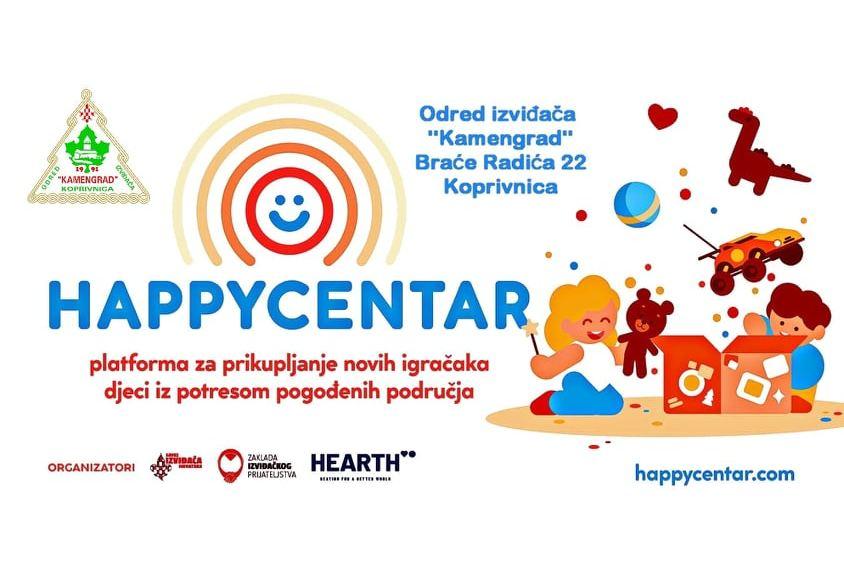 Nacionalna kampanja za prikupljanje igračaka za djecu potresom pogođenih područja