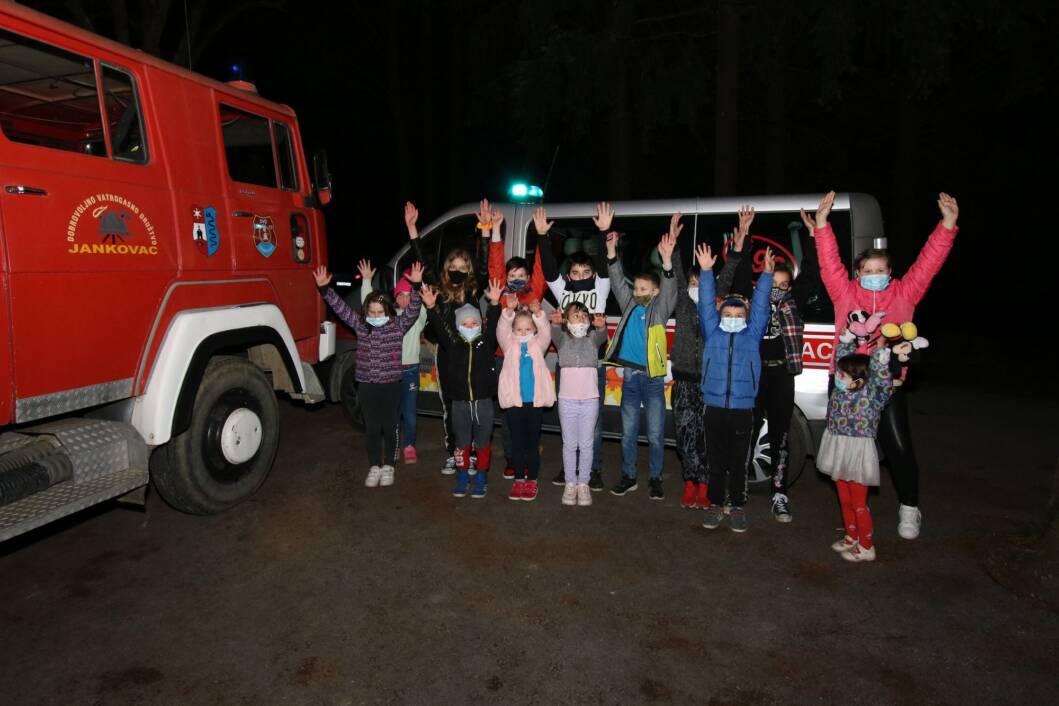 Mali vatrogasci iz Jankovca