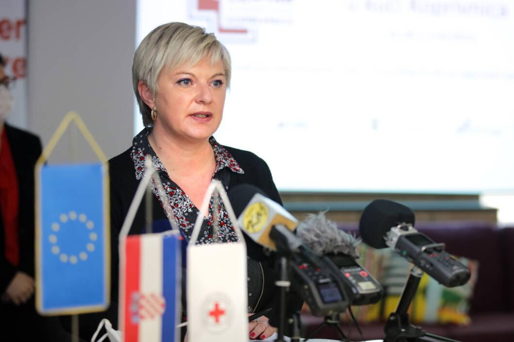 Adela Sočev, ravnateljica Gradskog društva Crvenog križa Koprivnica
