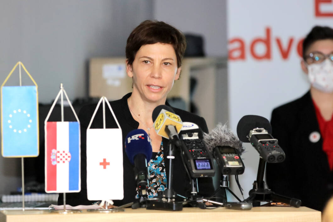 Aleksandra Mrkoci Pečnik iz Ministarstva regionalnog razvoja i fondova Europske unije