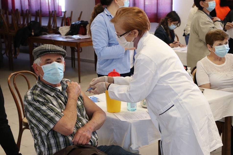 Cijepljenje u Svetom Petru Orehovcu