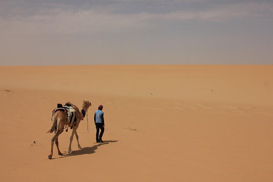 Ekspedicija na devi kroz pustinju Rub al Khali