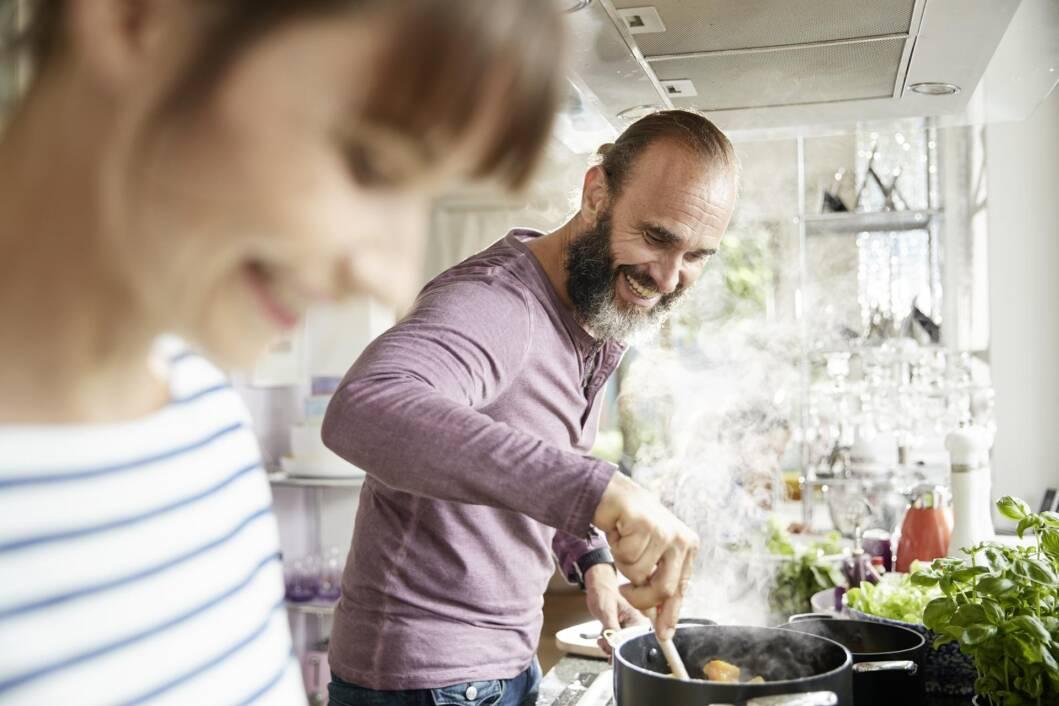 Kuhanje ručka na plinskoj peći