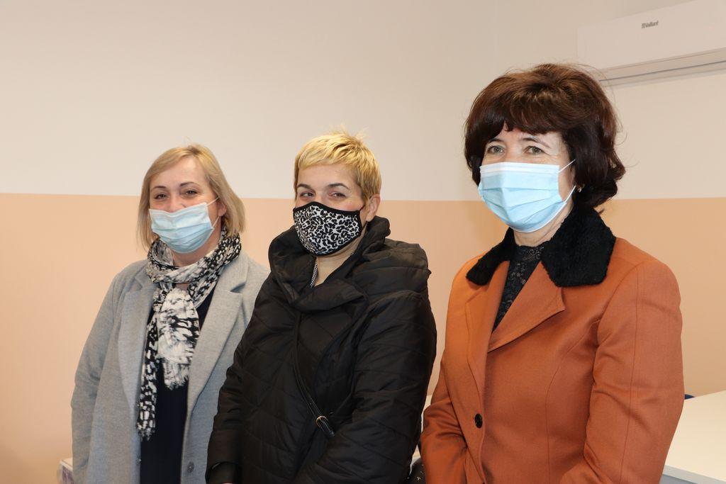 Melita Samoborec, Ana Mlinarić i Sanja Prelogović