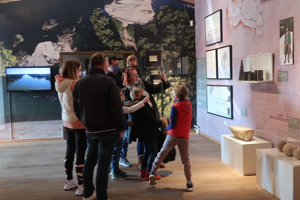 Posjetitelji u đurđevačkom muzeju