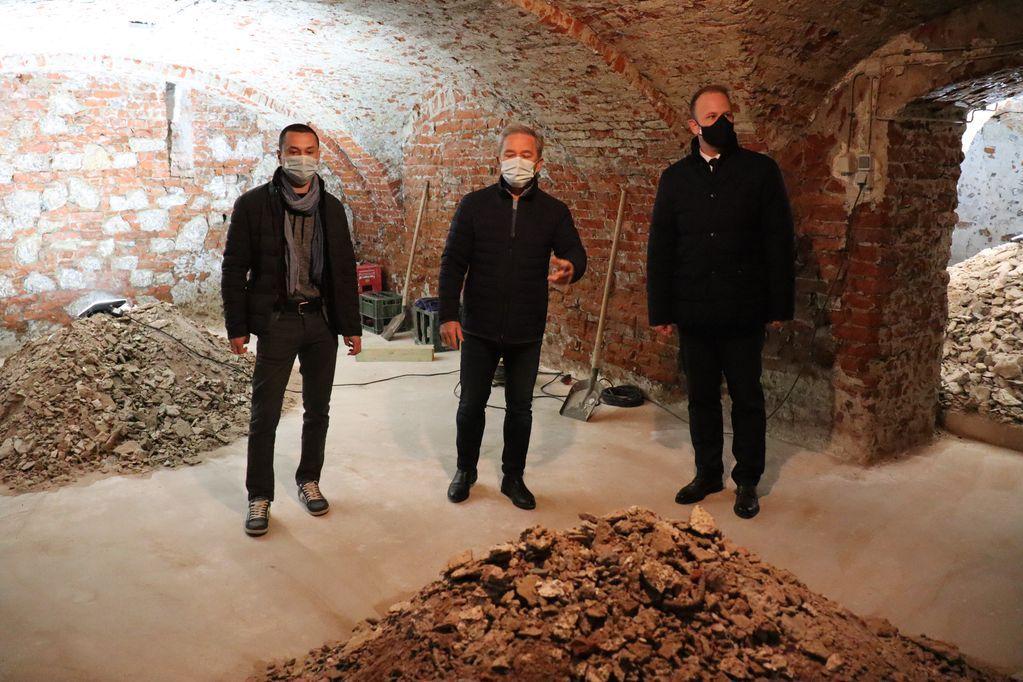 Radovi na sanaciji vlage i rekonstrukciji podruma koprivničkog muzeja