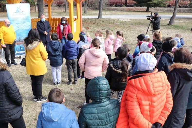 Učenici uče o bioraznolikosti na jezeru Šoderica