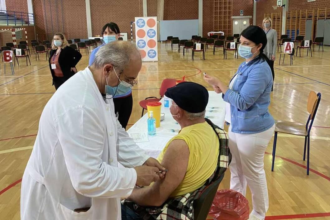 Cijepljenje u Novigradu Podravskom