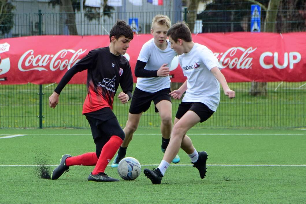 Mladi nogometaši na Coca-Cola cupu u Đurđevcu