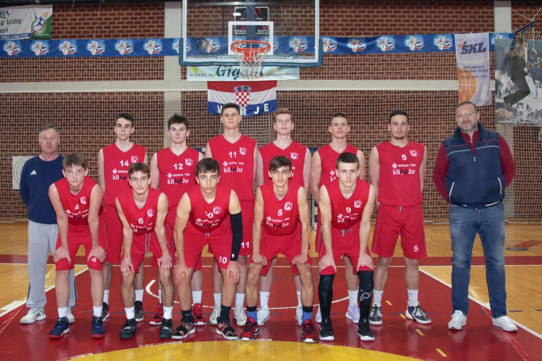 Juniorska košarkaška ekipa Podravca iz Virja