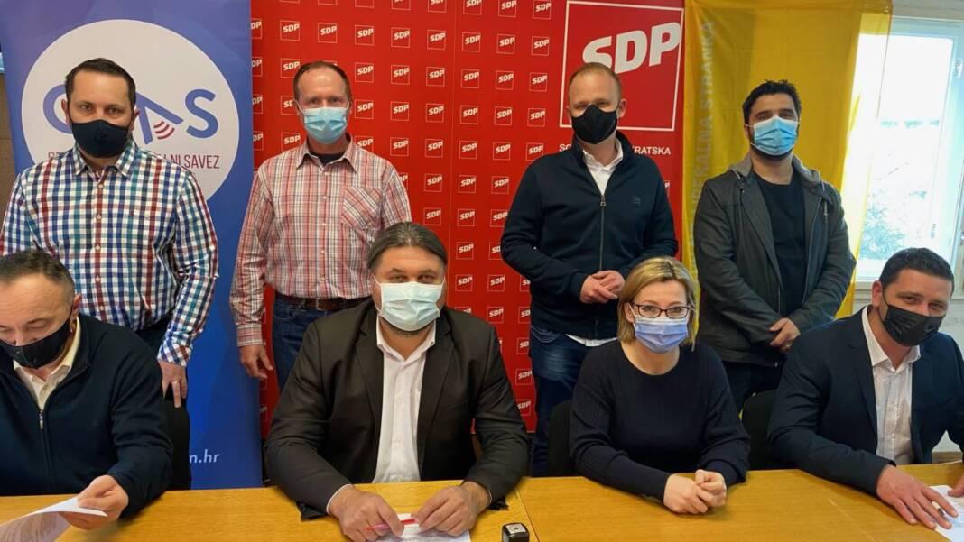 Članovi koalicije SDP - HSLS - GLAS za lokalne izbore u Koprivničko-križevačkoj županiji
