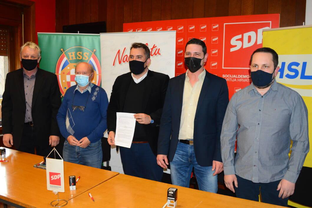 Nenad Martinaga, Željko Šemper, Tomislav Golubić, Darko Markić i Goran Perišić