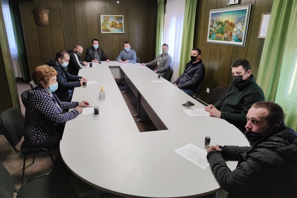 Predstavnici udruga s područja Općine Mali Bukovec