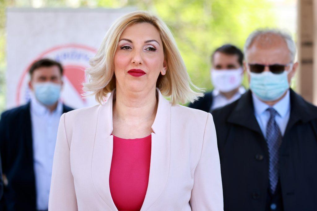 Kandidatkinja za članicu Županijske skupštine Dajana Milodanović