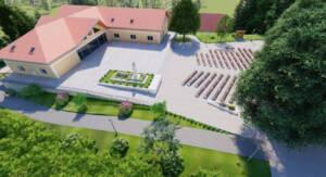 Pastoralni centar Molve // 3D Render