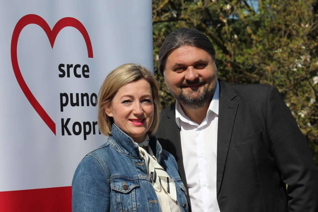 Sandra Sinjeri i Mladen Kešer