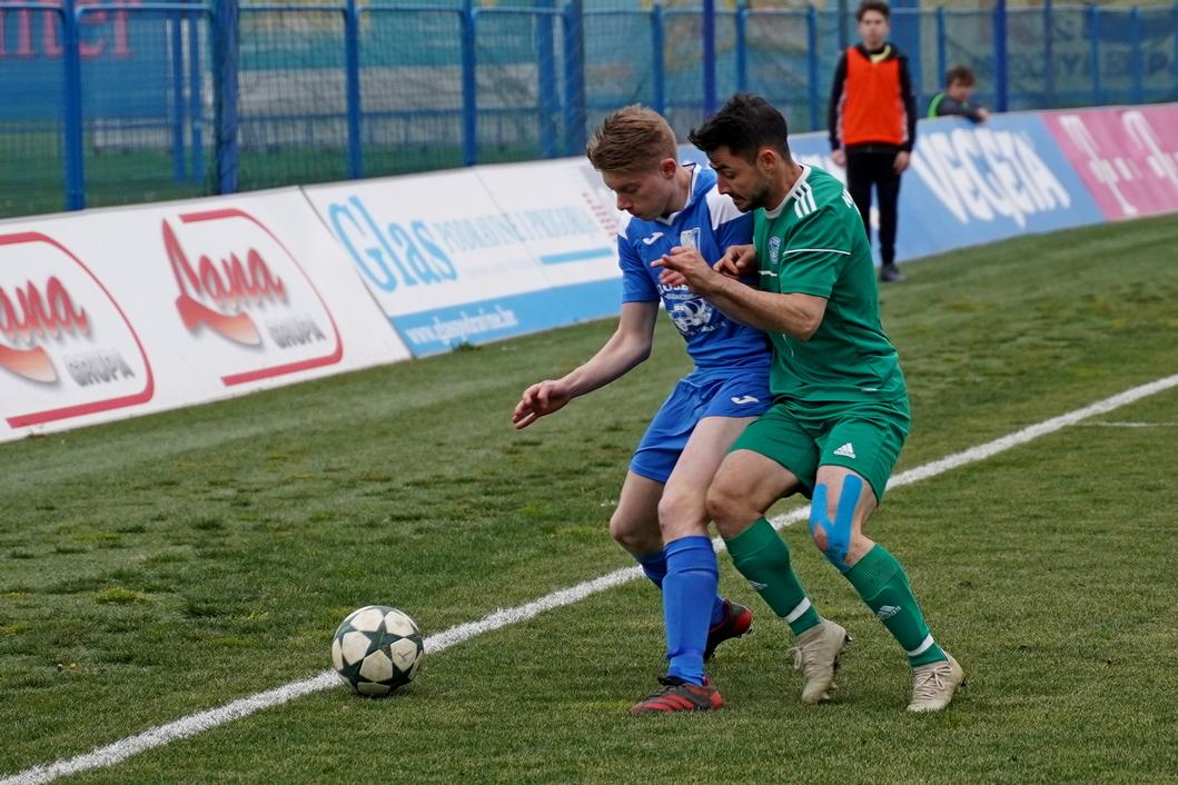 Detalj s utakmice između Tehnike Koprivnice i Mladosti iz Kloštra Podravskog
