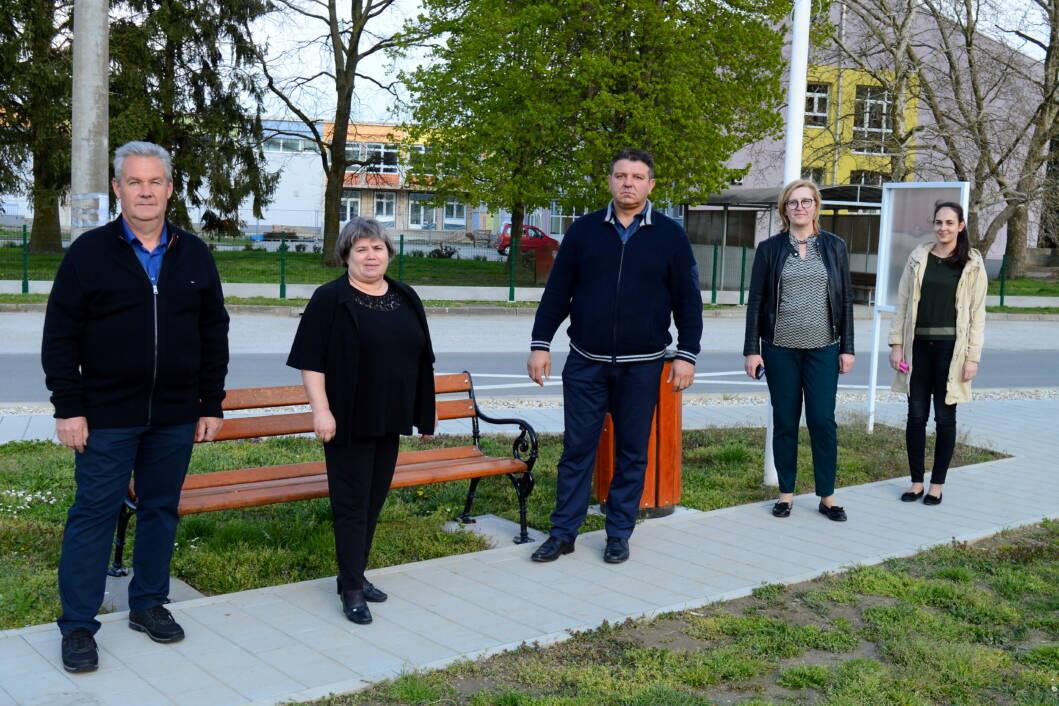 Franjo Vrbanić sa svojim timom