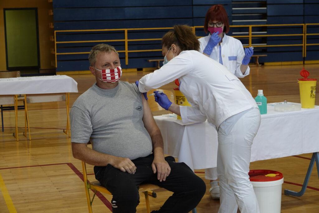 Cijepljenje u Đurđevcu