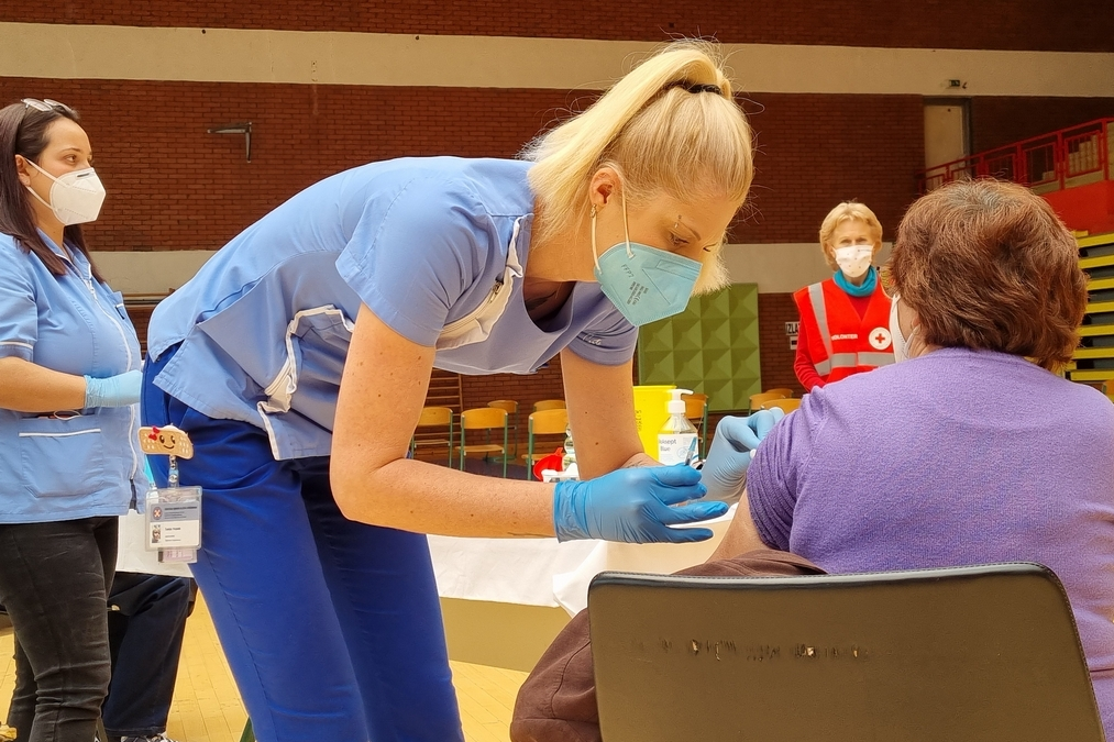 Cijepljenje protiv koronavirusa u Koprivnici