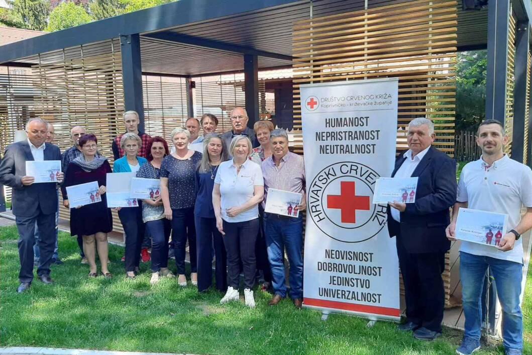 Volonteri županijskog Crvenog križa