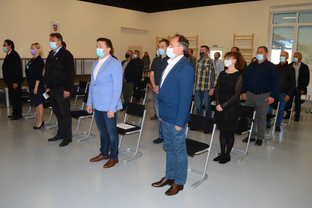 Svečana sjednica Općinskog vijeća Općine Mali Bukovec