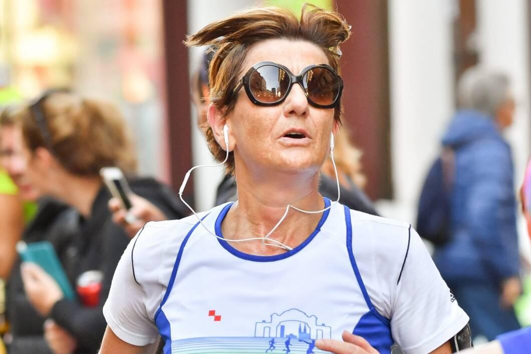 Martina Dalić na Zagrebačkom maratonu