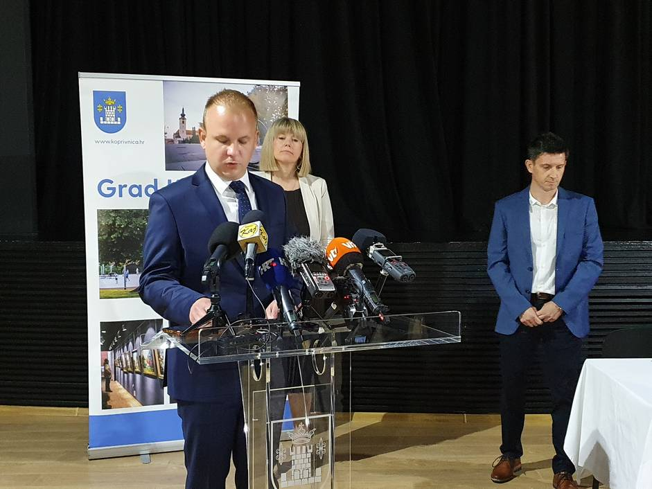 Mišel Jakšić, Ksenija Ostriž i Hrvoje Ružić