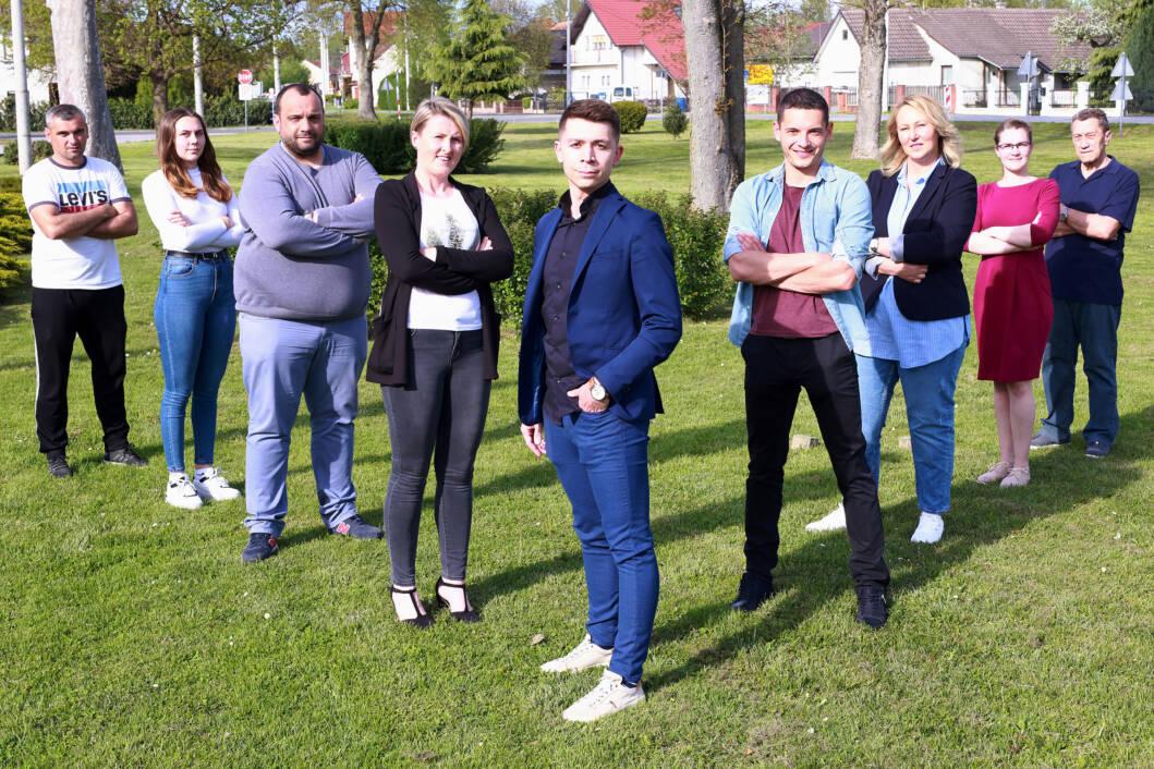 Kandidacijska lista grupe birača s nositeljem Petrom Dombajom
