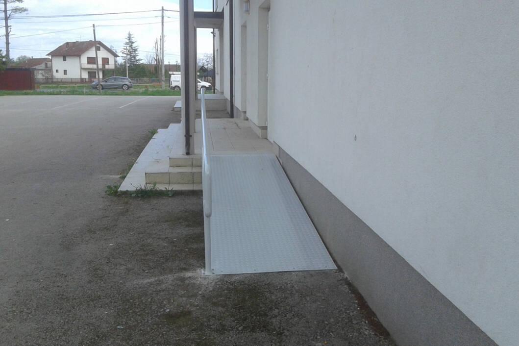 Prilaz za invalide kod doma Subotica Podravska