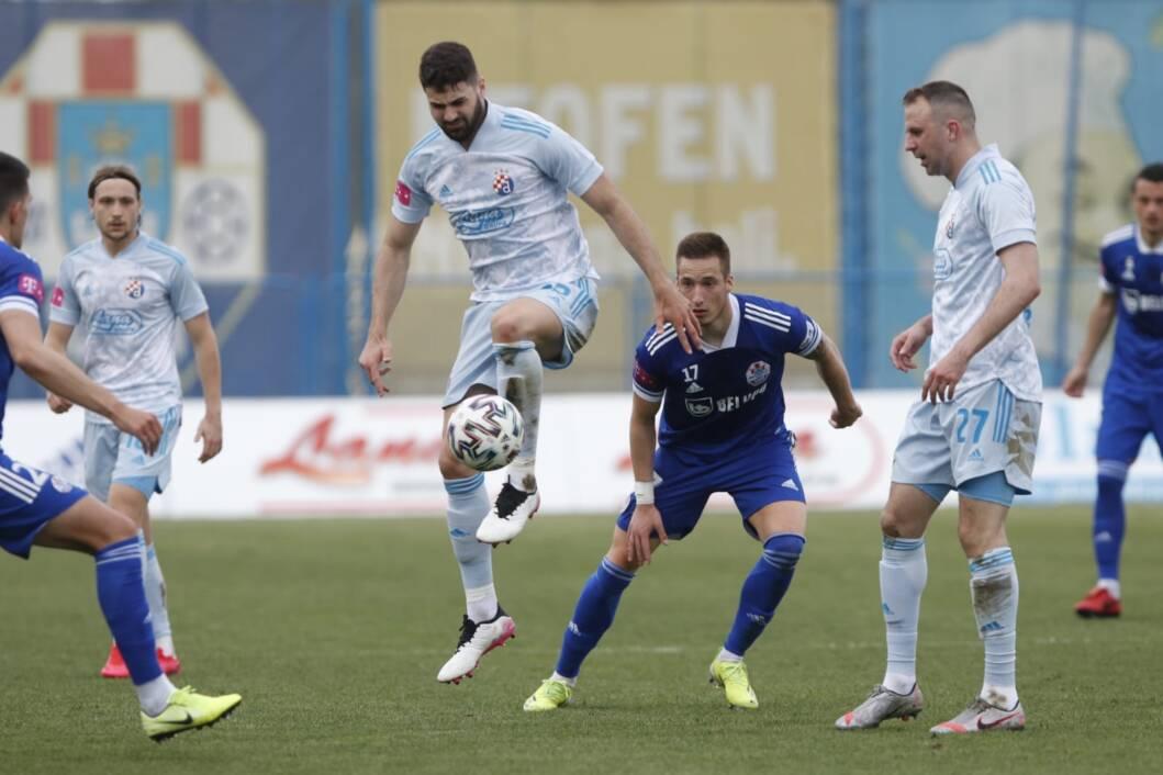 Detalj s utakmice između Slavena Belupa i Dinama u Koprivnici