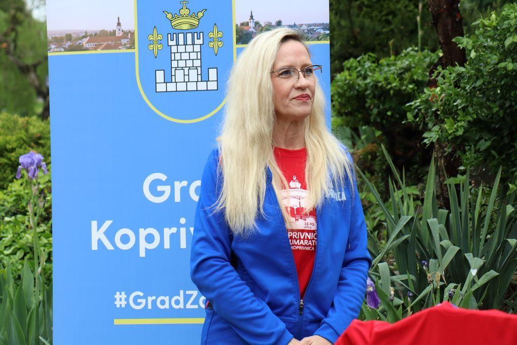 Sonja Rušak iz Atletskog kluba Koprivnica