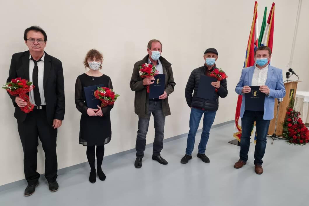 Zlatko Golec, Marta Šarec, Stjepan Jakopčin, Blaž Povijač i Darko Marković