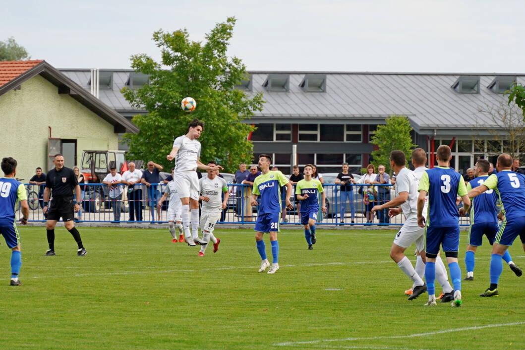Detalj s utakmice između Graničara i Ferdinandovca u Legradu