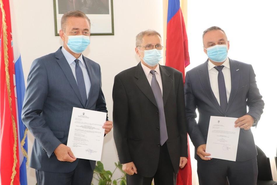 Darko Koren, Veljko Kučeković i Ratimir Ljubić