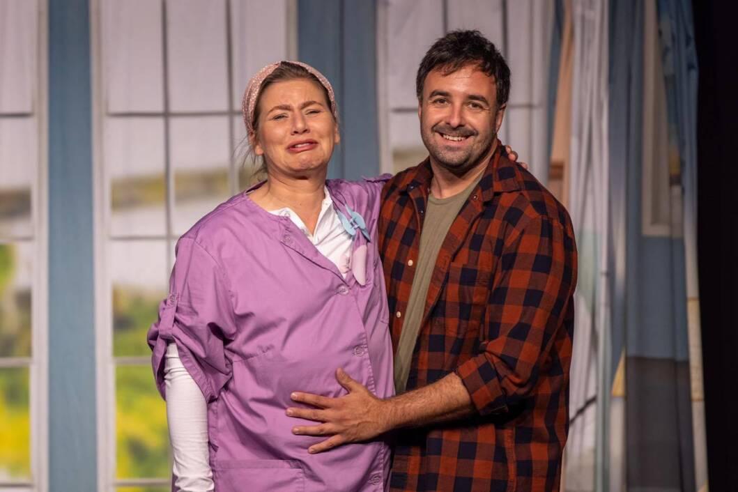 Ja trudnica, predstava Kerekesh Teatra