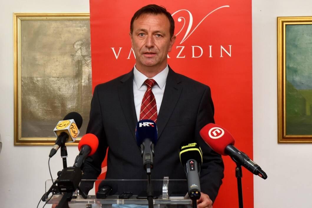 Gradonačelnik Varaždina Neven Bosilj