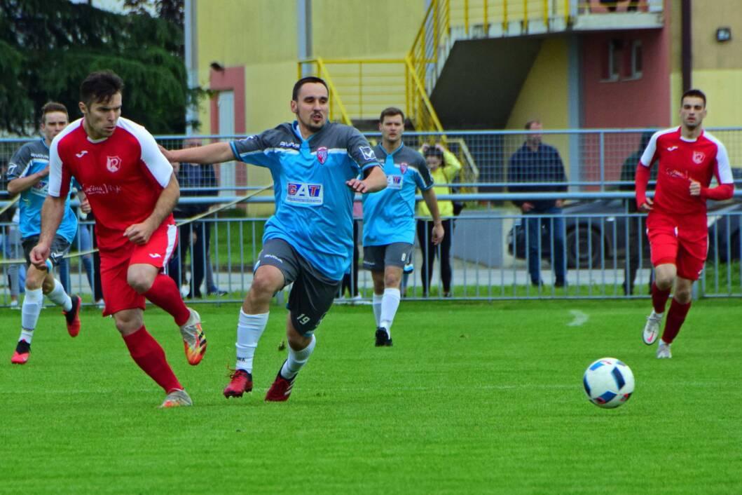 Detalj s utakmice između Podravca i đurđevačkog Graničara u Virju