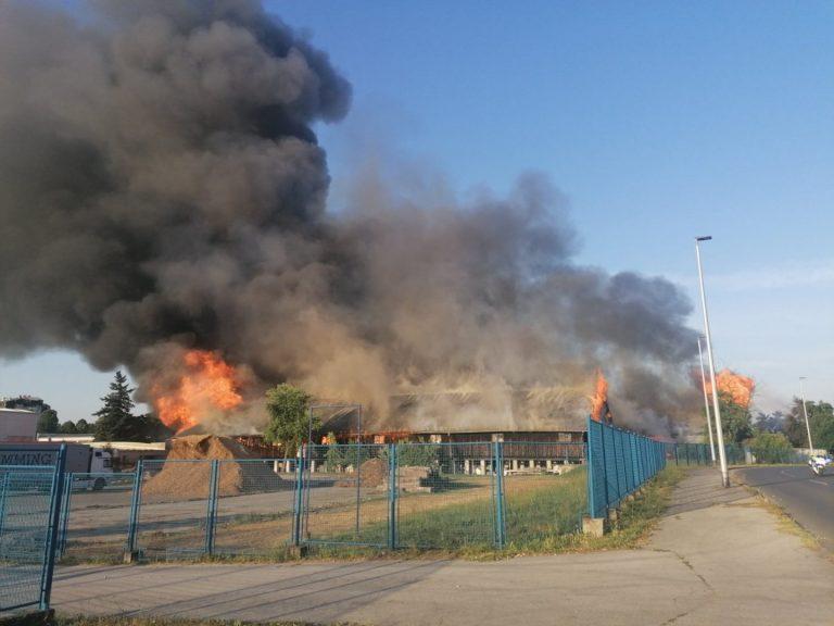Strašan požar u Čakovcu