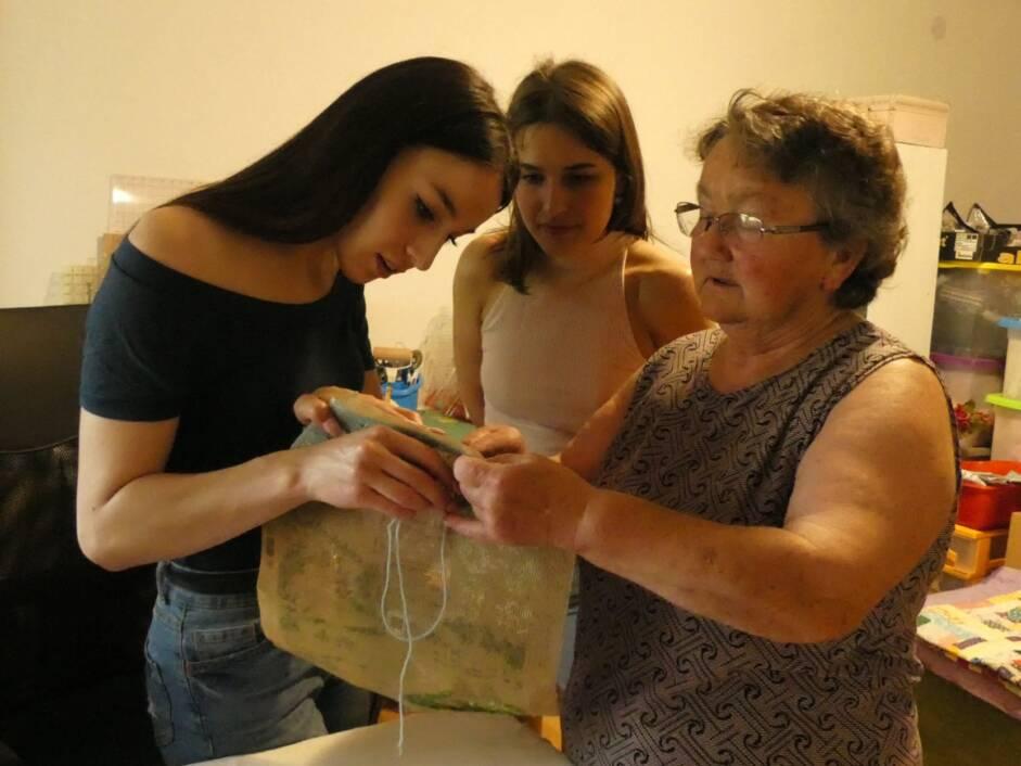 Radionica šivanja i heklanja u Podravskim Sesvetama