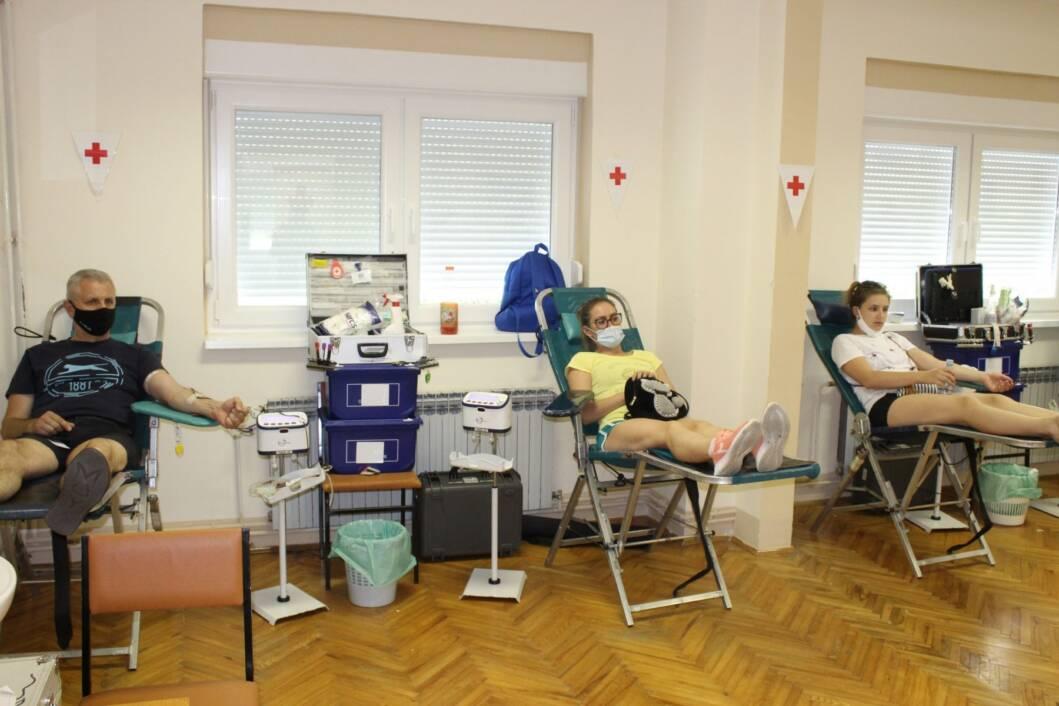 Dobrovoljno darivanje krvi u Koprivnici
