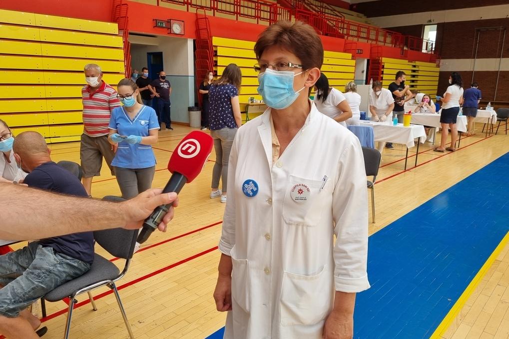 Ravnateljica Županijskog Zavoda za javno zdravstvo Draženka Vadla