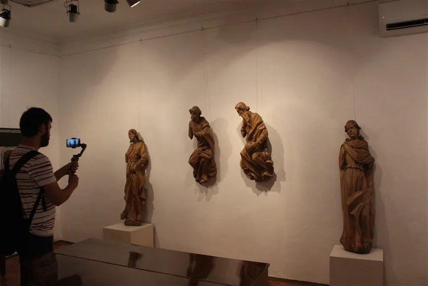 Izložba Zdenka Baloga o križevačkom kiparu Stjepanu Szever(in)u